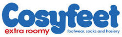Cosyfeet Shoes - stockist of extra wide fitting shoes, therapeutic shoes, diabetic footwear & comfortable footwear