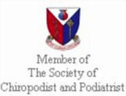 Accredited Practice by The Society of Chiropodists and Podiatrist