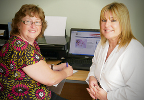 ered podiatrists Tracy Davies and Joanne Wynne