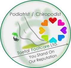 Podiatrists / Chiropodists in Cardiff n Pontypridd plus stockist of extra wide fitting shoes, therapeutic shoes, diabetic footwear & comfortable footwear