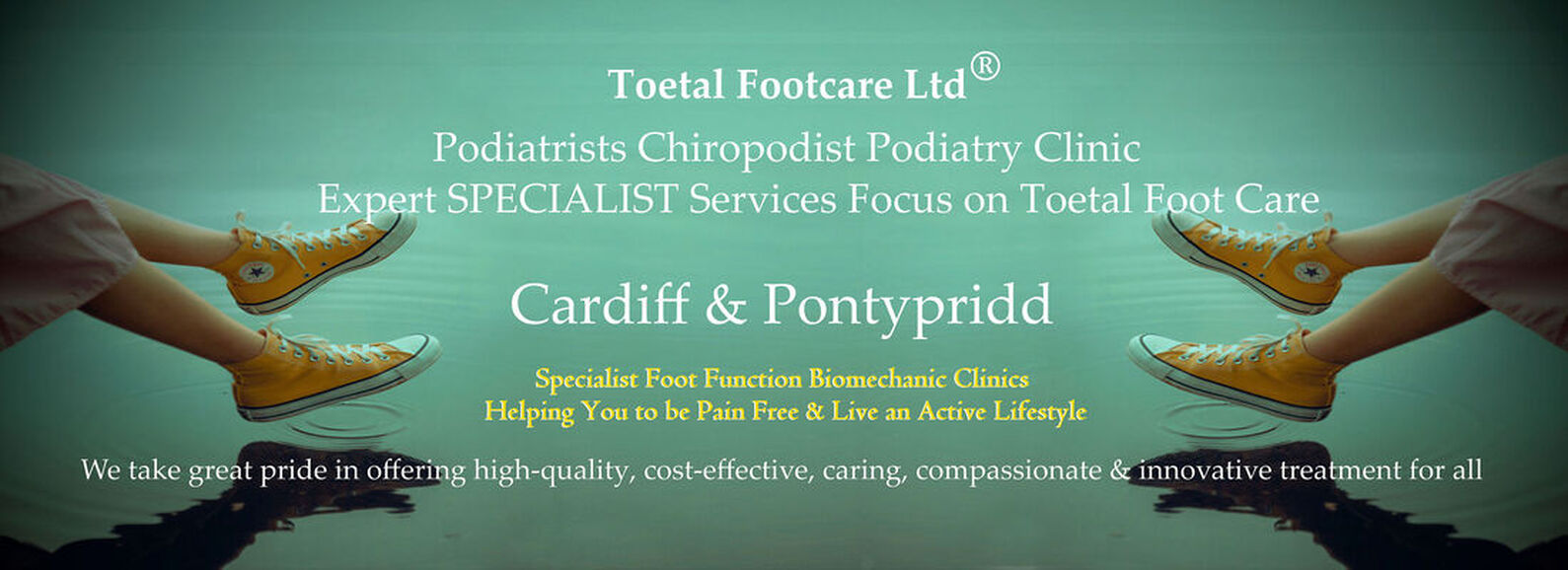 Podiatrists / Chiropodists in south Wales | North Cardiff, Whitchurch, Cyncoed, Lisvane, Llanishen, Penylan, Canton, Pontcanna